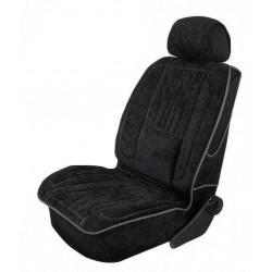 Pokrowiec profilowany na fotel z tkaniny welurowej