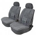 Pokrowce profilowane welurowe na przednie fotele