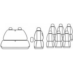 pokrowce OPEL MOVANO A 9os. (1+2 i 6x1) od '97-10