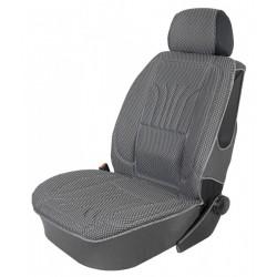 Profilowany pokrowiec na fotel z tkaniny żakardowej