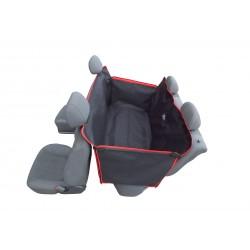 Pokrowiec ochronny do przewozu psa do samochodu na tylną kanapę