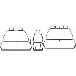 pokrowce Renault Master II 7 os. od '97-10